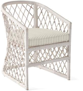 Serena & Lily Capistrano Outdoor Dining Chair - Driftwood