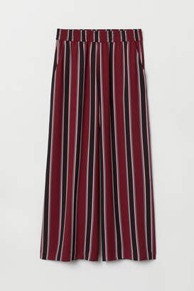 H&M Ankle-length pull-on trousers - Red