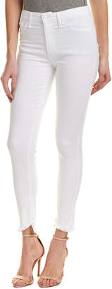 Joe's Jeans Charlie White High-Rise Ankle Skinny Leg