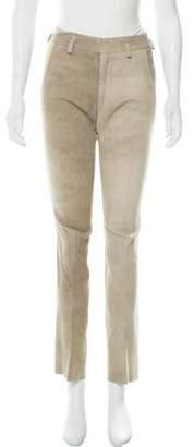 Todd Lynn Mid-Rise Flared Pants