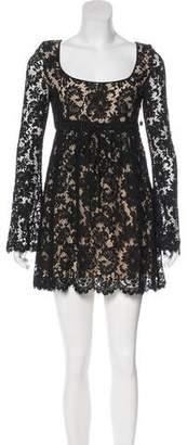 Gucci Lace Mini Dress