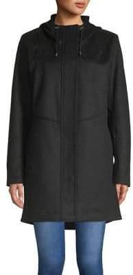 Pendleton Darby Hooded Waterproof Wool-Blend Coat