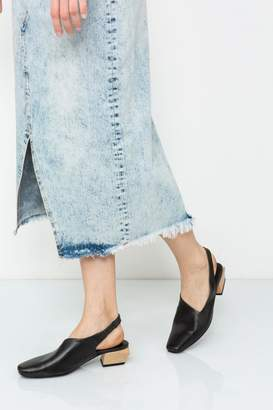 Yuko Imanishi Wood Heel Shoe