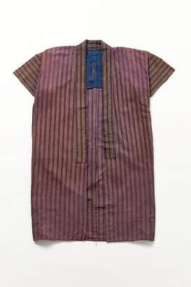 Urban Renewal Vintage Merlot Stripe Yukata Kimono