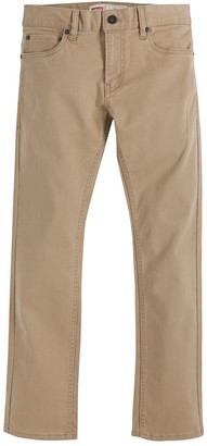 Levi's Levis Boys 8-20 511 Sueded Twill Pants