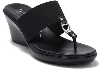 231c2d3a5 ... Nordstrom Rack · Italian Shoemakers Cia Elasticized Metal Bit Wedge  Sandal
