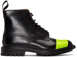 Junya Watanabe Black Trickers Edition Brogue Boots