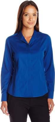 Foxcroft Women's Size Long Sleeve Eva Non Iron Shirt