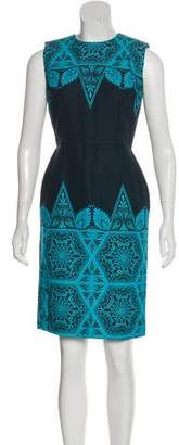 Jonathan Saunders Printed Sheath Dress