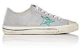 Golden Goose Women's V-Star 2 Suede Sneakers-Gray