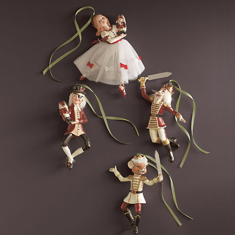 Nutcracker Ballet Ornaments