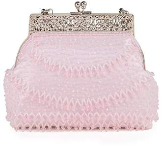 Farfalla Womens 90453 Clutch Pink