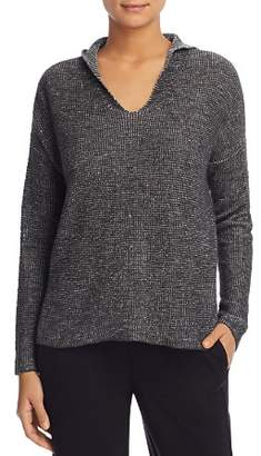 Eileen Fisher Hooded Drop-Shoulder Sweater