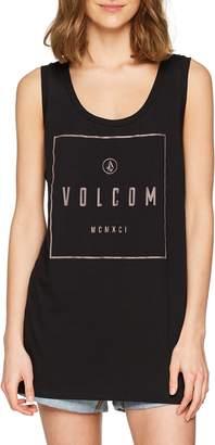 Volcom Junior's Z for Zebra Scoop Neck Bikini Top