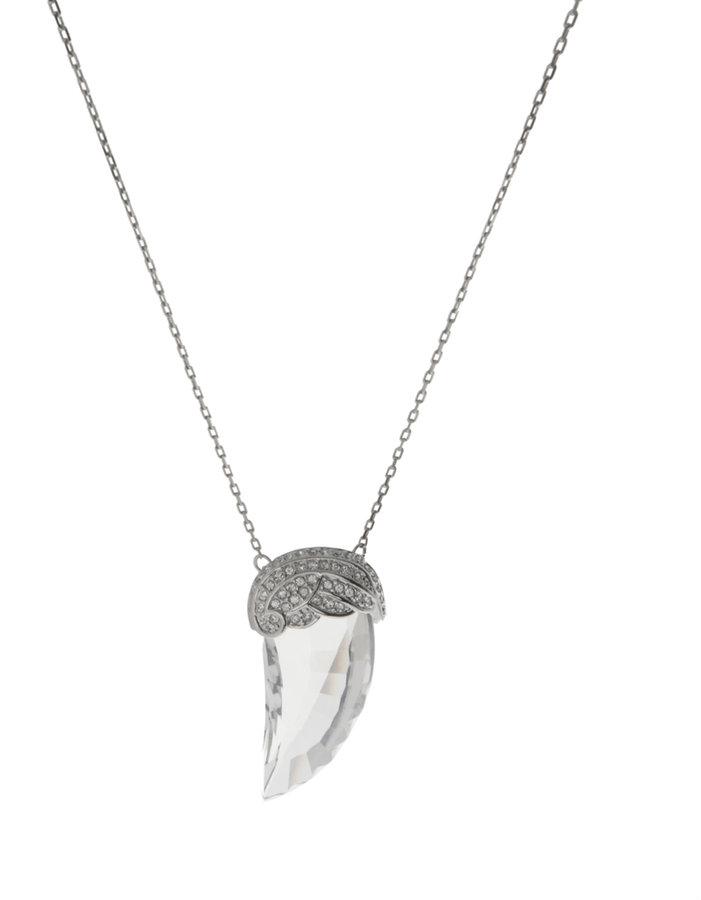 Swarovski Crystal Promise Pendant Necklace