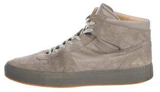 Common Projects Suede High-Top Sneakers