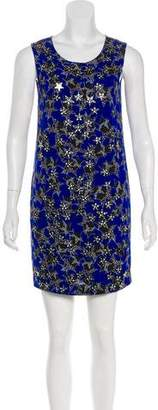 Diane von Furstenberg Embellished Shift Dress