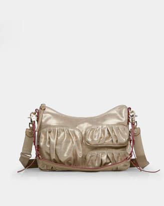 MZ Wallace Gold Glazed Linen Coco