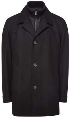 HUGO Barelto Virgin Wool Coat