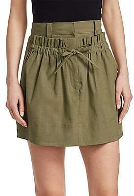 A.L.C. (エーエルシー) - A.L.C. Women's Kent Linen Mini Skirt