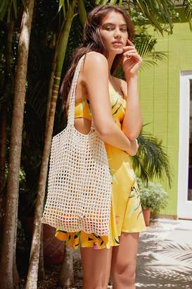Urban Outfitters Woven Cotton Net Tote Bag
