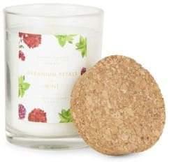 D.L. & Co. Geranium Petals & Mint Scented Candle