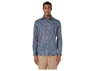 Etro Slim Fit All Over Paisley Shirt