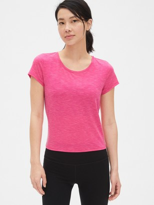 Gap GapFit Breathe Crossover Tie-Back T-Shirt
