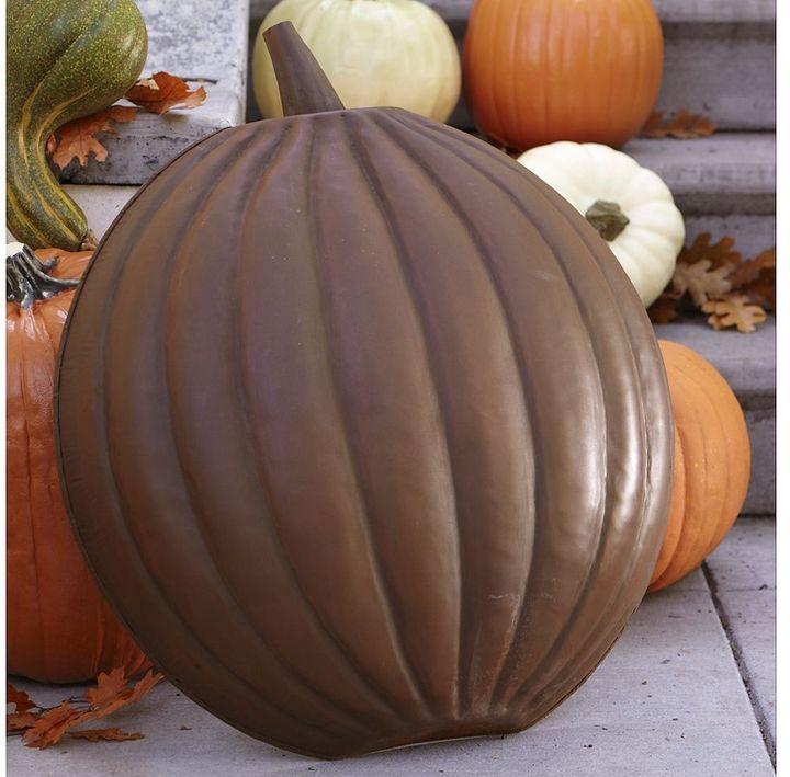 Rustic Metal Pumpkin