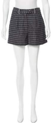 Tanya Taylor High-Rise Mini Shorts