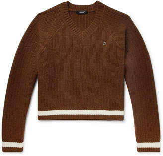 Undercover Ribbed Wool Sweater