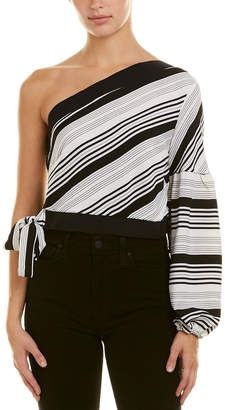 Lucca Couture Asymmetrical Top