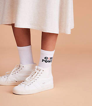 Lou & Grey Style Club Girl Power Socks