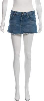 Marc by Marc Jacobs Mini Denim Skirt