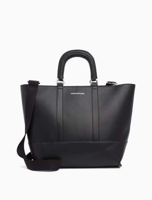 Calvin Klein east/west zip tote bag