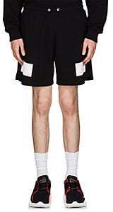 Givenchy Men's Reflective-Detailed Cotton French Terry Shorts - Black