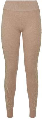 William Sharp Swarovski Embellished Leggings