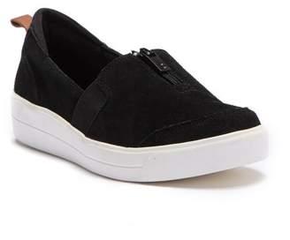 Ryka Vivi Suede Wedge Slip-On Sneaker
