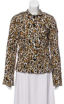 8b00115e31e3af Pre-Owned at TheRealReal · Tory Burch Leopard Print Jacket