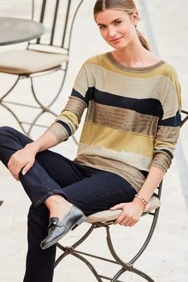 Next Womens Orange Pocket Sweater