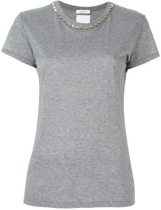 Valentino 'Rockstud' collar T-shirt