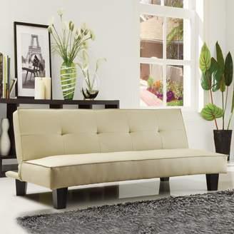 Homevance HomeVance Bento Manmade Leather Mini Sofa Bed