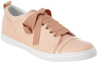 Lanvin Leather Lace-Up Sneaker