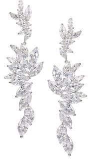 Nina Corinth Crystal Statement Drop Earrings