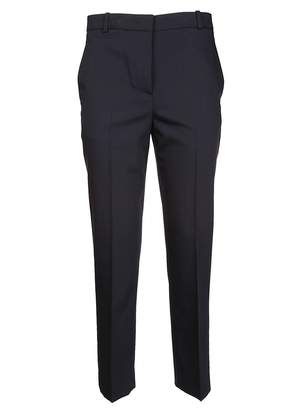 Jil Sander Navy High Waisted Tapered Trousers