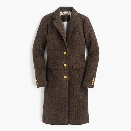 J.CrewCollection Rhodes topcoat in Scottish tweed