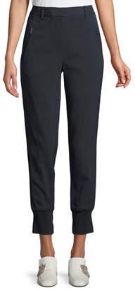 3.1 Phillip Lim Pinstripe Cotton Jogger Pants