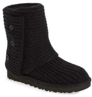 black knit ugg boots
