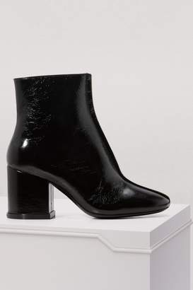Kenzo Leather Daria boots with heels
