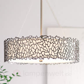 Hängelampe Silver Coral 55,9 cm